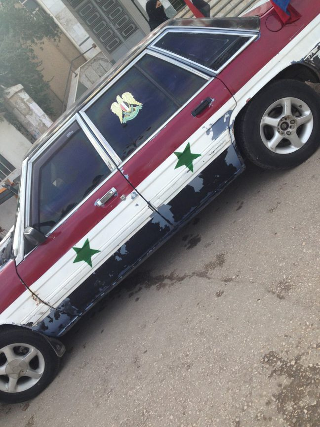 SFR assad car