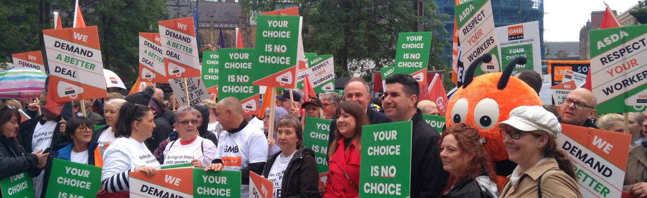 Tantamount to bullying': Asda Workers March Against