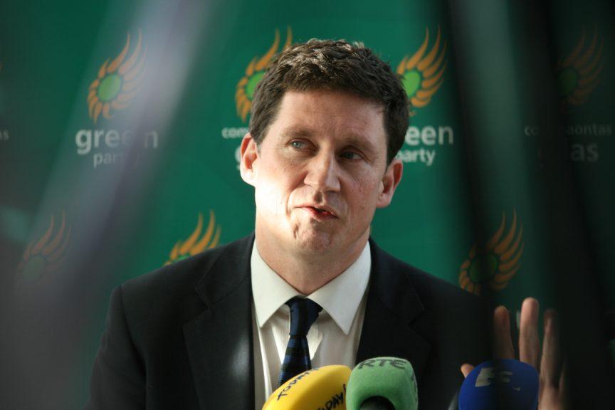 Eamon Ryan, leader of the Irish Green party