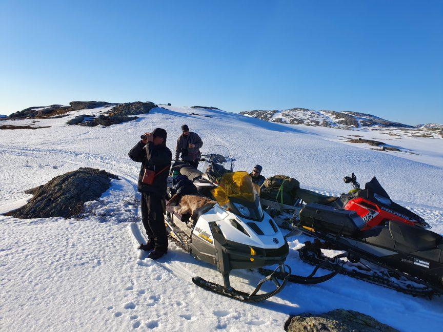 Saami reindeer herders.