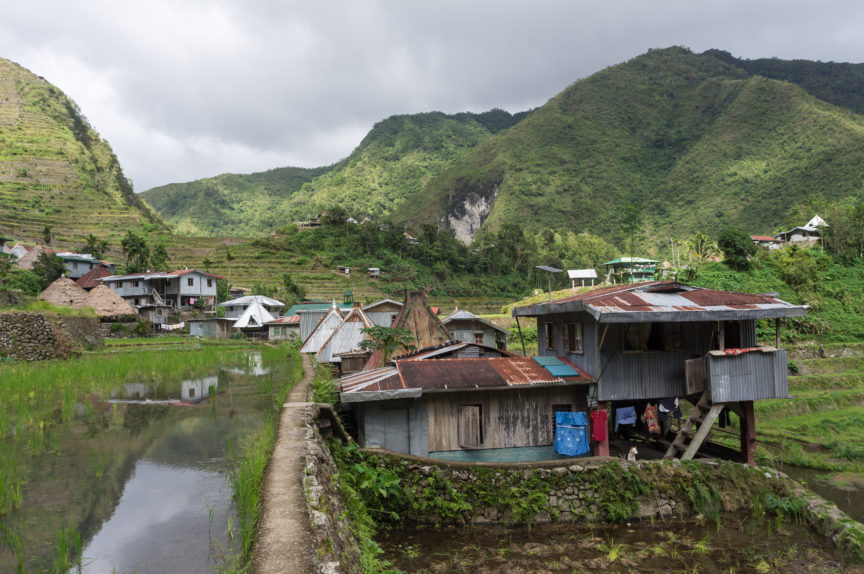A village in the philippines