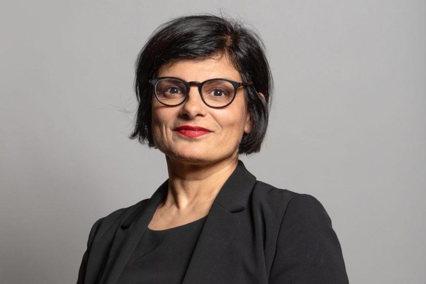 Official portrait of Bristol West MP Thangam Debbonaire