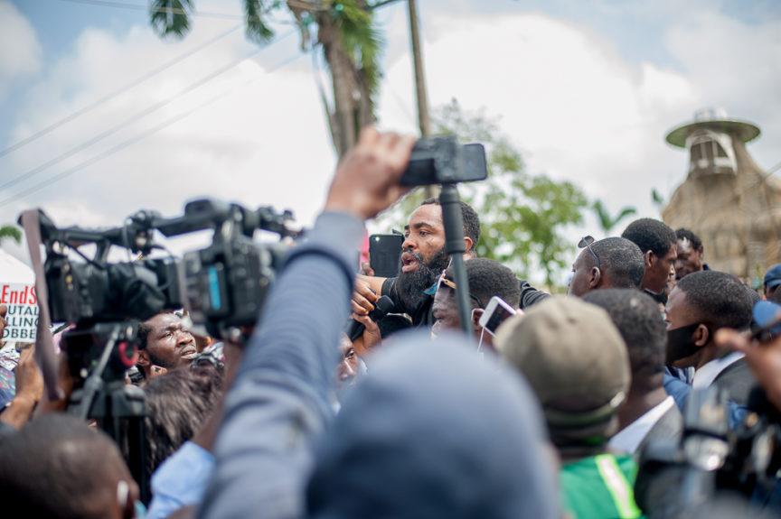 End SARS protest, Lagos