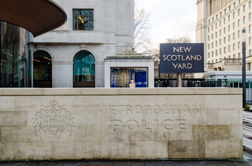 New Scotland Yard London