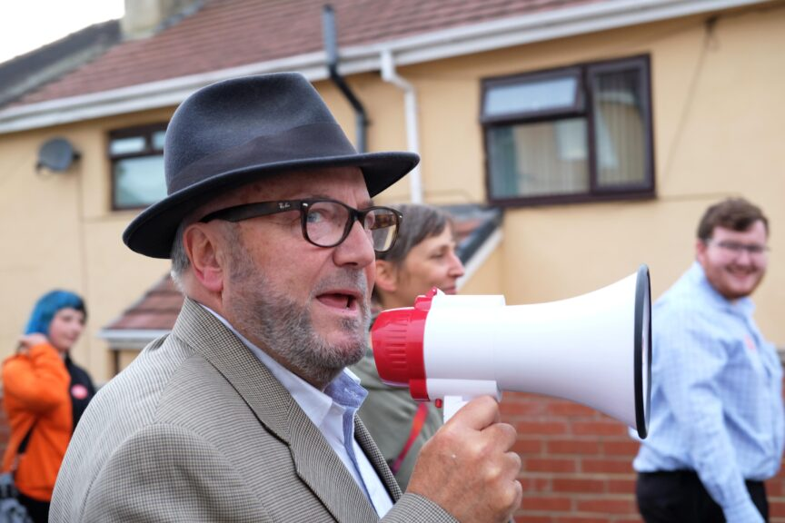 George Galloway in Batley and Spen.