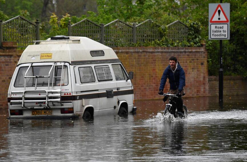 floods London climate change