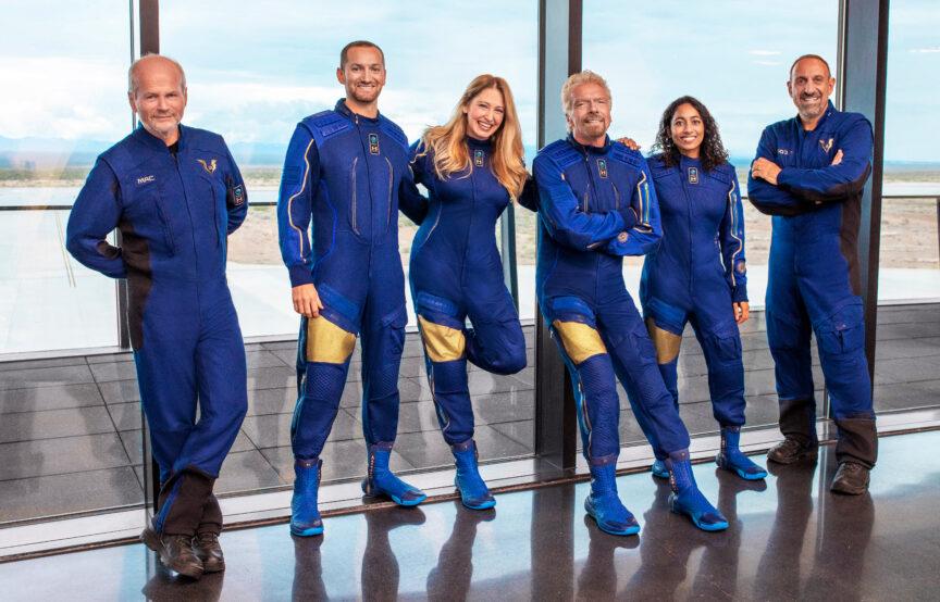 space race Richard Branson space tourism Virgin