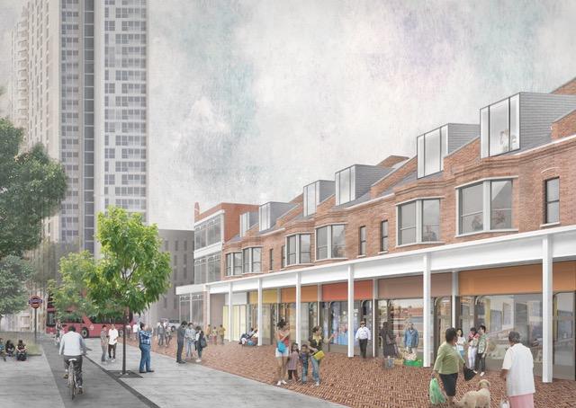 The community plan for Latin Village.
