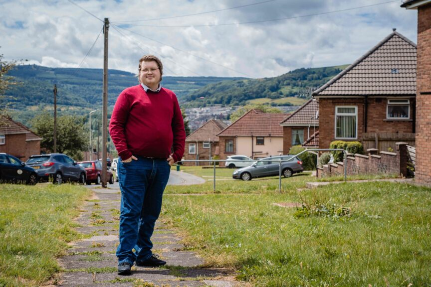 Dylan Lewis-Rowlands in Cwmbach, Aberdare