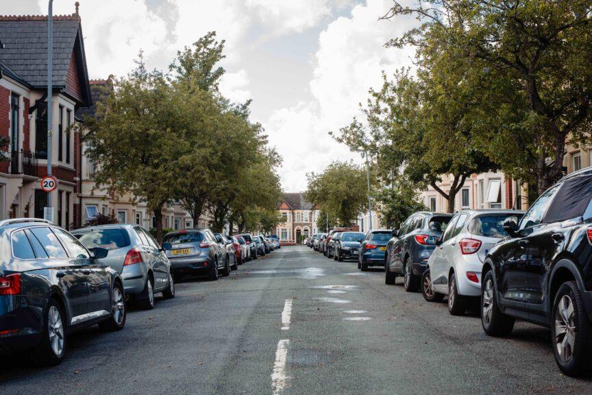 A street inPenylan, Cardiff